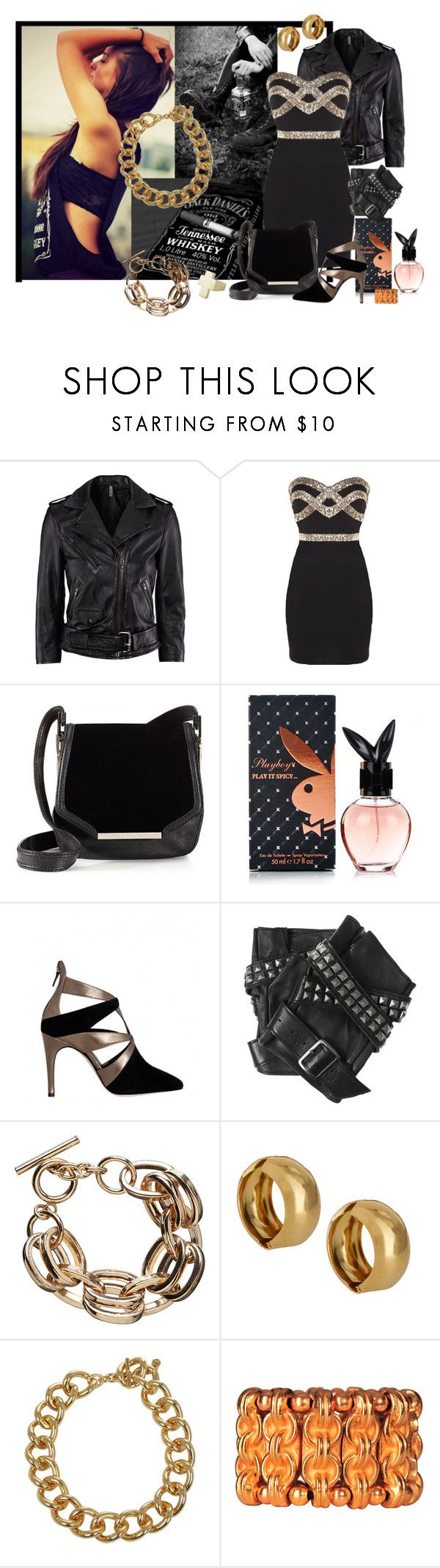 """""""Jack Fashion"""" by gregory-joseph ❤ liked on Polyvore featuring H&M, Juicy Couture, Alejandro Ingelmo, Karl Lagerfeld, Gogo Philip, Michael Kors, Philippe Audibert, Crafted and jack daniels"""