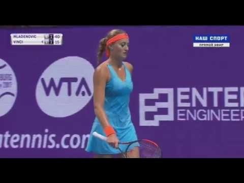 Kristina Mladenovic vs Roberta Vinci Petersburg 2017 Quarterfinal 2 SET