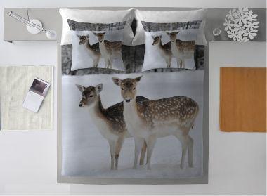 Komplet pościeli Winter Deer