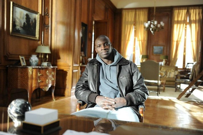 Omar Sy, from almost friends in X-Men: Days of Future Past