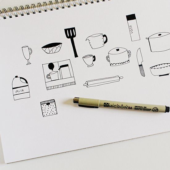 Learn how to easily turn your doodles into high quality vector art.