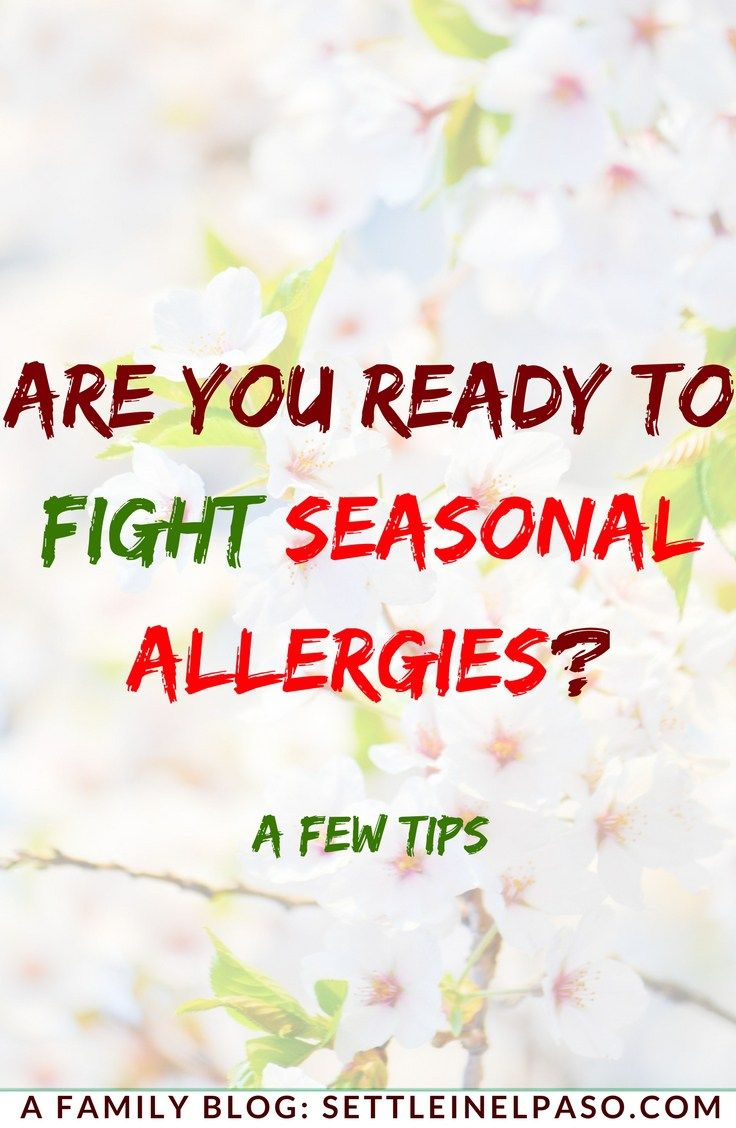 The post describes some seasonal allergy symptoms and remedies. #allergies