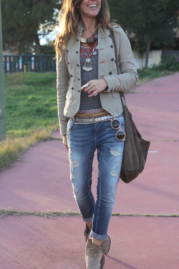baggy pants and militar jacket by mytenida
