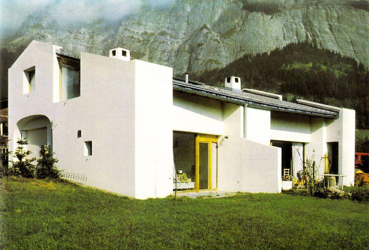 Solid: G. Shaefer House / Rudolf Olgiati
