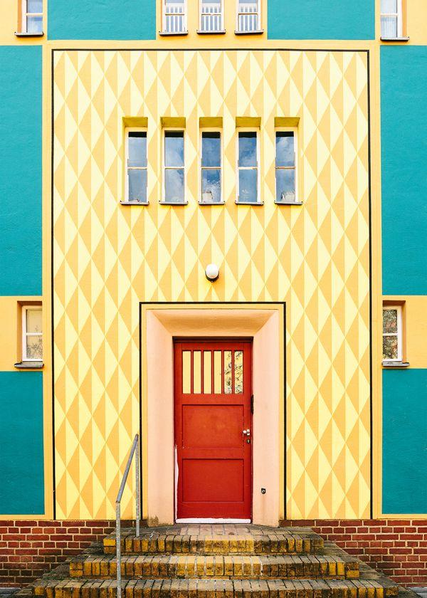 Bruno Taut's Berlin by Tuva Kleven, via Behance