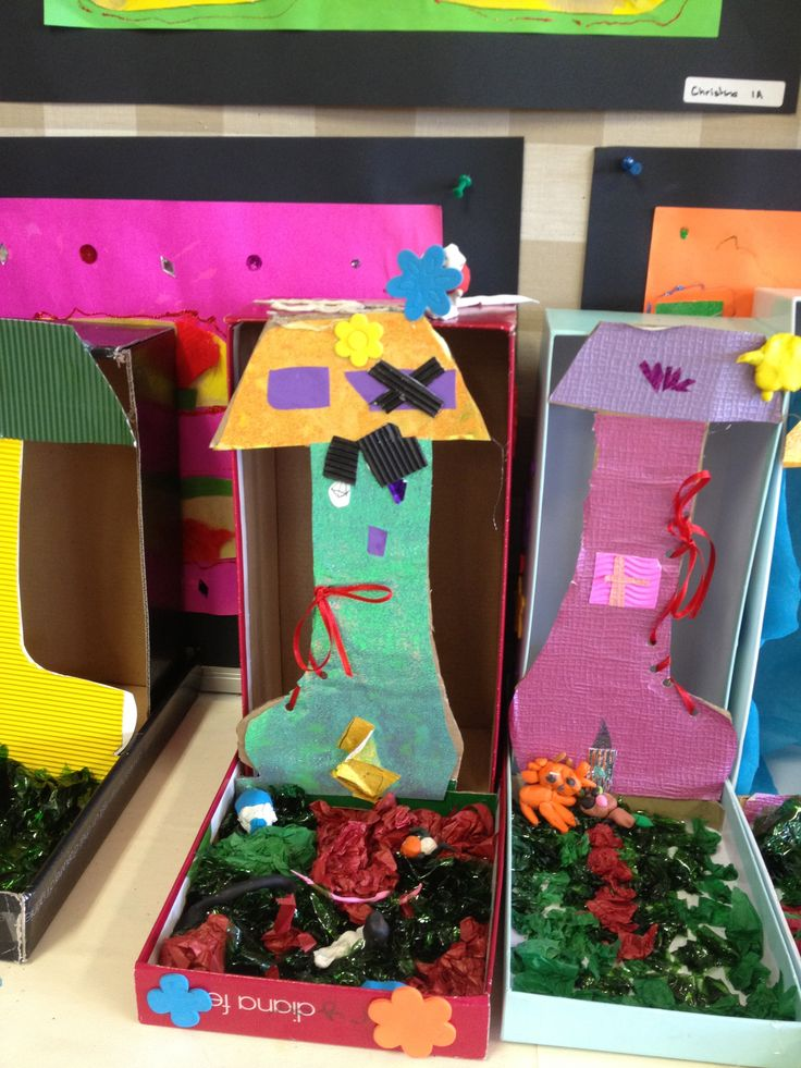 Shoe Houses by Grade One