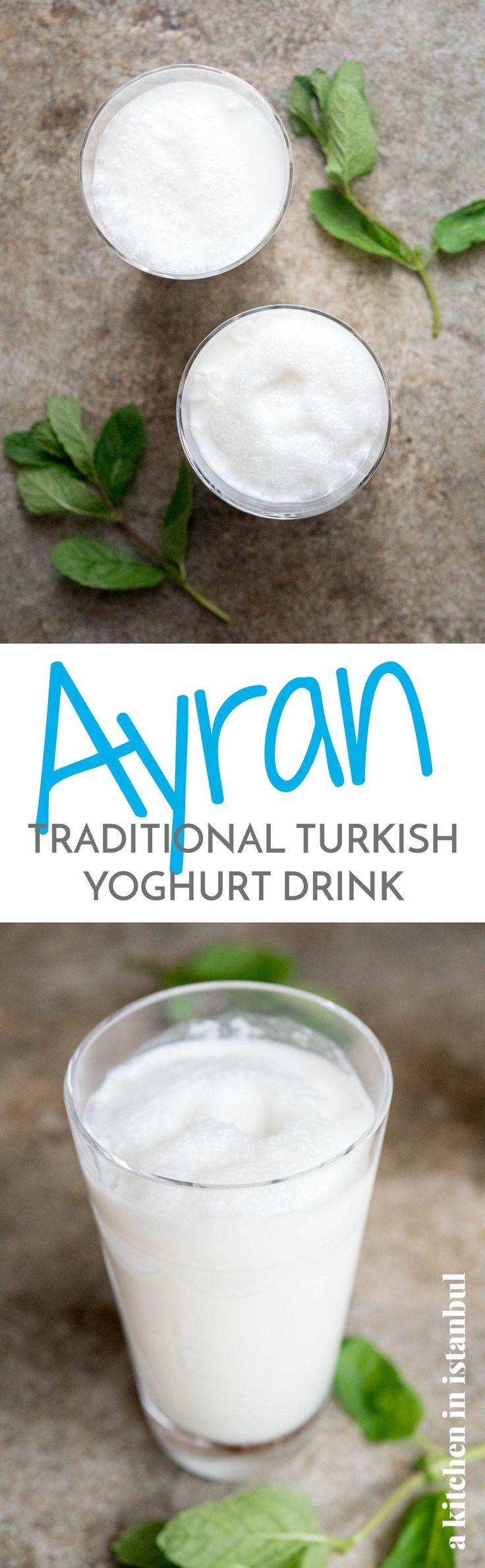 Ayran (Turkish yoghurt drink) - recipe / A kitchen in Istanbul