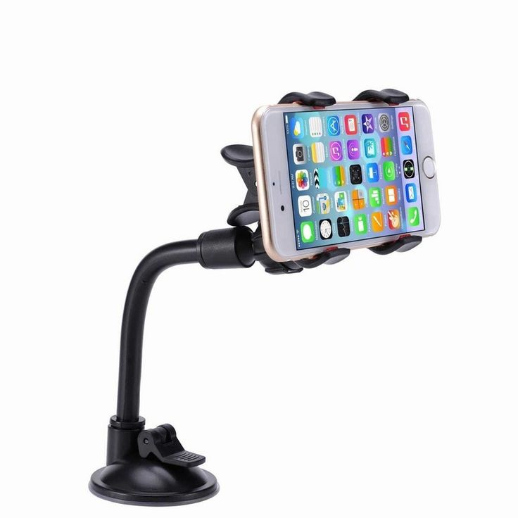 Find More Holders & Stands Information about 100PCS Universal Car Phone Holder Long Arm 360 Rotation Windshield Car Mount Holder for iPhone 6 6s Plus SE Samsung Galaxy S7 S6,High Quality holder iphone,China holder reflector Suppliers, Cheap holder documents from Neuss Store on Aliexpress.com