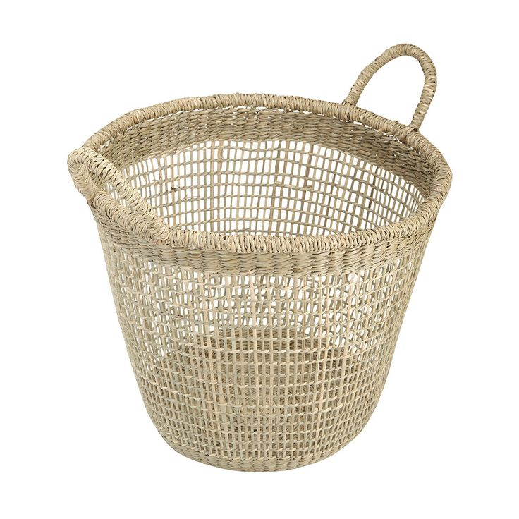 Seagrass Tall Basket | Kmart