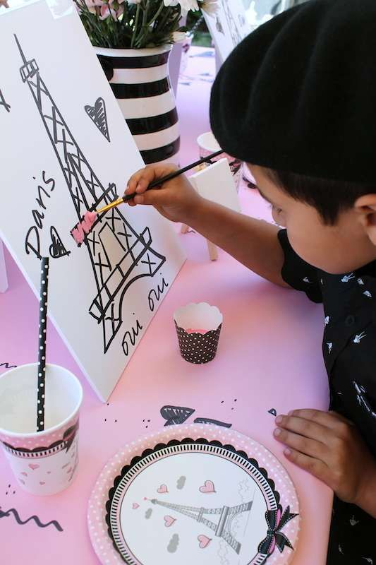 French / Parisian Birthday Party Ideas | Photo 7 of 14
