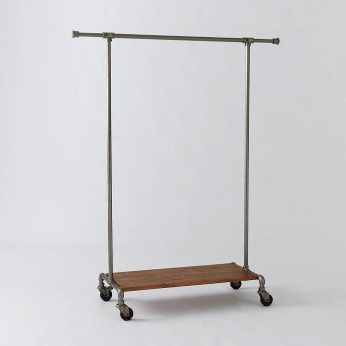 10 easy pieces metal clothing racks
