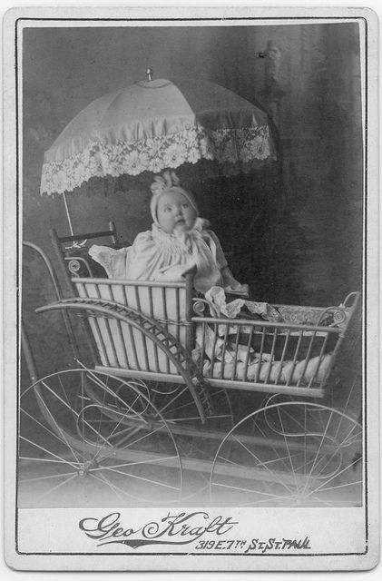 1891 - baby carriages were invented in the 1700's by William Kent in 1733...