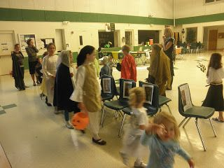 St. Cecelia's Musical Chairs...Just Like Mary: All Saints Day Party