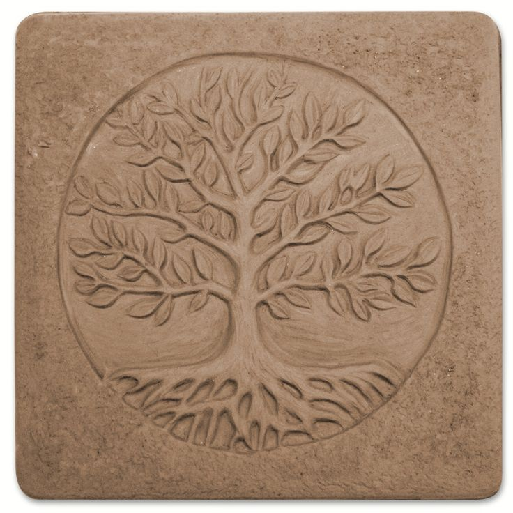 Tree of Life Stepping Stone Mold - Garden Molds