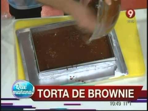 Los dulces de ariel torta de brownie ariel rodriguez for Cocina 9 ariel rodriguez palacios pollo relleno