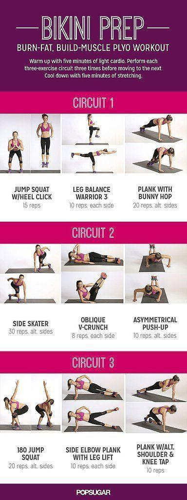 Printable Bodyweight Workouts | POPSUGAR Fitness