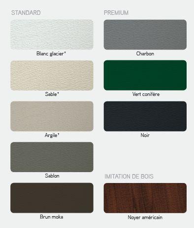 14 best garage door colors images on pinterest - Couleur gris charcoal ...