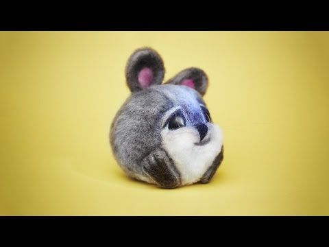 Как сделать шерстяного кролика: видеоурок - Ярмарка Мастеров - ручная работа, handmade