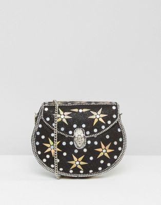 PARK LANE STAR EMBELLISHED HAND MADE BAG WITH DETACHABLE STRAP #fashion #trend #style #onlineshop #shoptagr