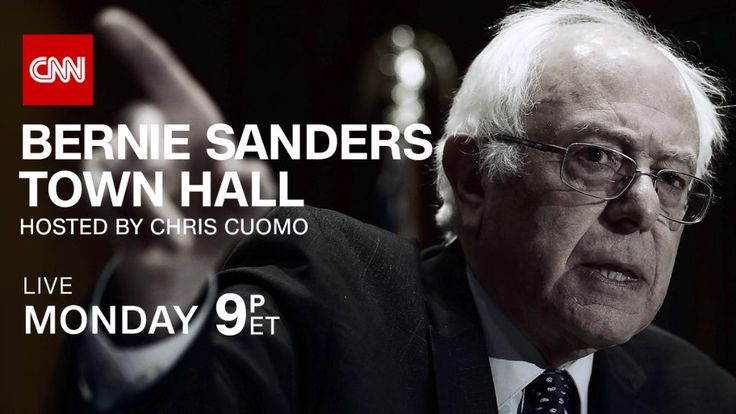 """Vermont Sen. Bernie Sanders will participate in a prime-time CNN Town Hall next week just as the Republican-controlled 115th Congress and President-elect Donald Trump begin to roll out their agendas. Sanders, the progressive icon who challenged Hillary Clinton for the Democratic presidential nomination, will sit down with CNN's Chris Cuomo. The one-hour event will be held at George Washington University on January 9 at 9 p.m. ET and will air on CNN (Click on """"Read-it"""" for video)"""
