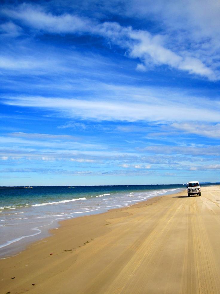 Fraser Island, Australia  #beach #australia
