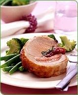 Roasted Pork Recipe with Sage Berry Dressing