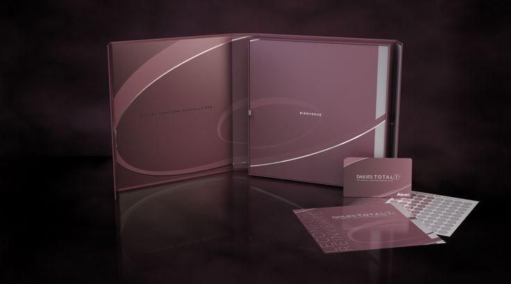 Design de coffrets pour la marque Dailies Total 1, 2012 - Alcon