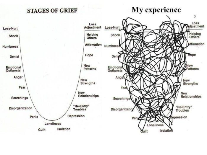 Best 25+ Seven Stages Of Grief ideas on Pinterest | Stages ... - photo#43