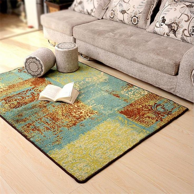 133X190CM Nylon Rugs And Carpets For Home Living Room Bedroom Area Rug Coffee Table Floor Mat Anti-Slip Study Room Carpet