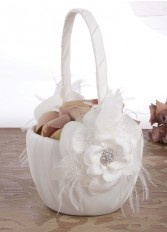 Somerset Flower Girl Basket