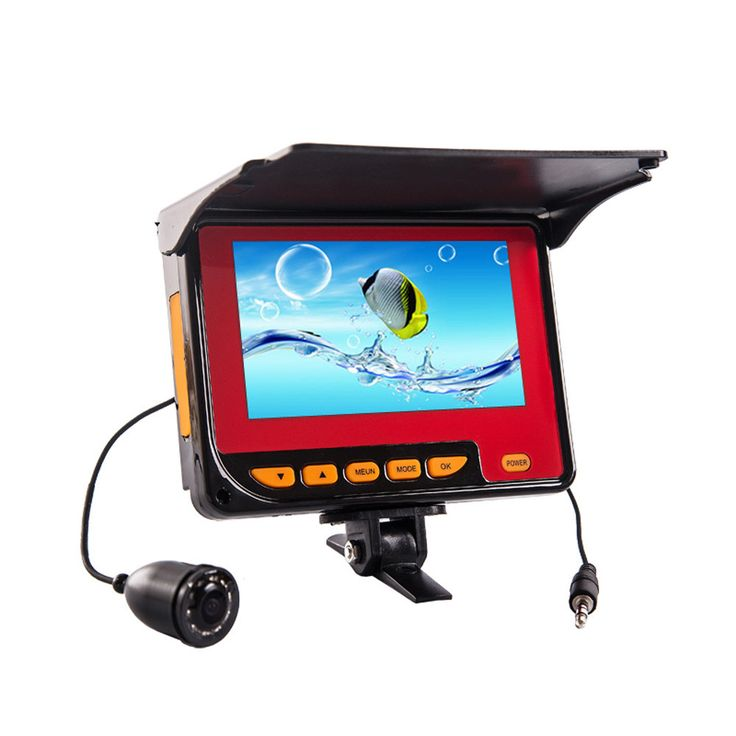 PREMIUM QUALITY FISH FINDER WITH UNDERWATER VIDEO CAMERA, 4.3 INCH LCD MONITOR