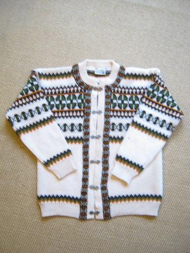 Lovely Norway Gann Sporty Wool Clasp Front Cardigan UK Size M Sale | eBay