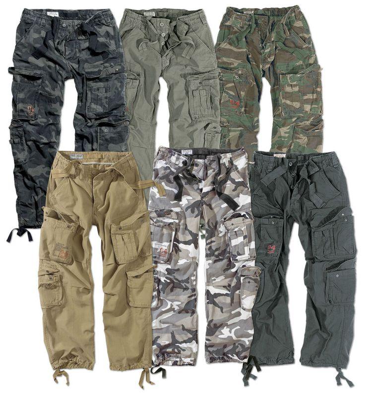 Excedentes militares aerotransportados Cargo Pantalones Para Hombre ejército Vintage combatir Workwear Pantalones | Ropa, calzado y accesorios, Ropa para hombre, Pantalones | eBay!