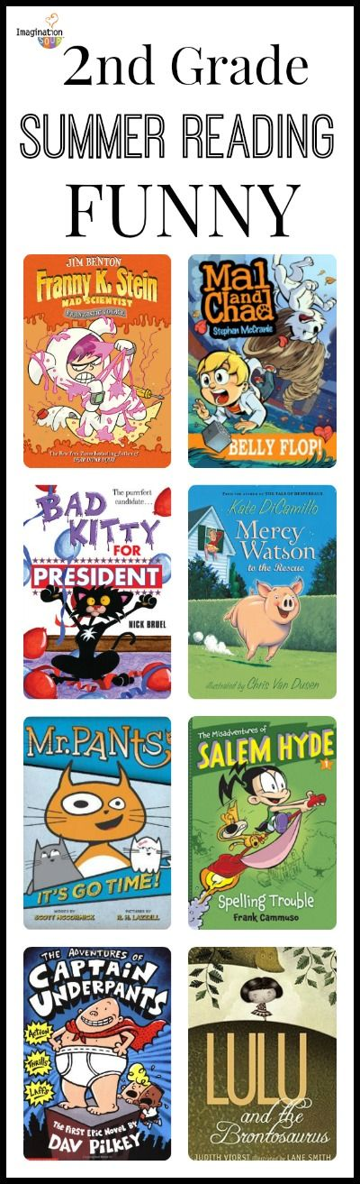 going into 2nd grade summer reading lists.