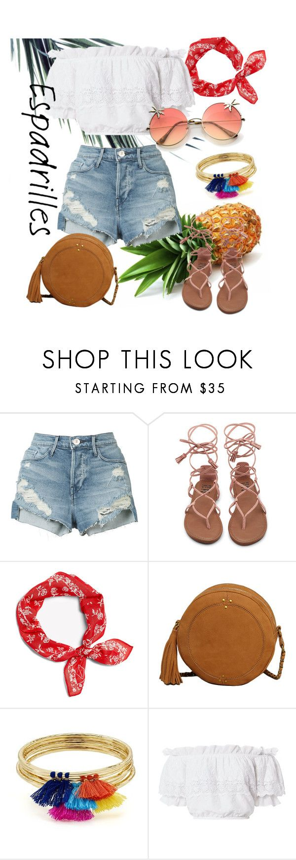 """""""Summer vibe +outfit#105+"""" by alifia-fae on Polyvore featuring 3x1, Aqua and LoveShackFancy"""