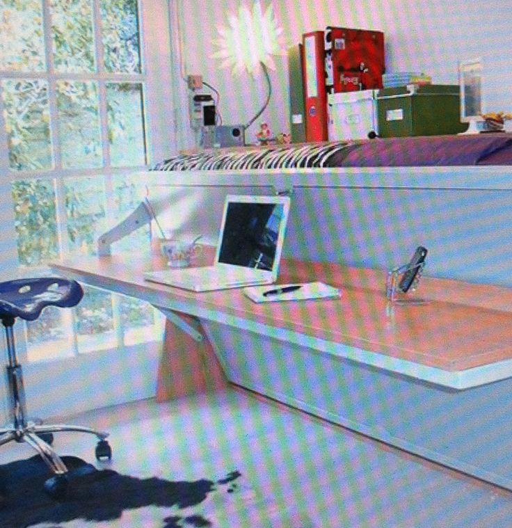 cama escritorio 2 // bed-desktop 2 www.mospace.cl