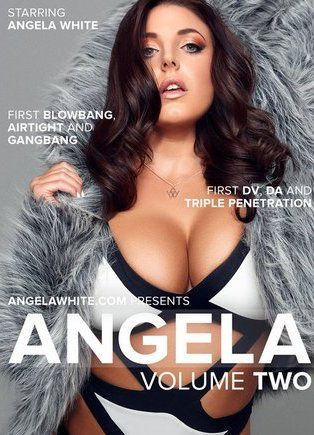 DVD ANGELA 2 com ANGELA WHITE, JAMES DEEN, KELLY DIVINE, LEXINGTON STEELE, MANUEL FERRARA, MR PETE, TONI RIBAS