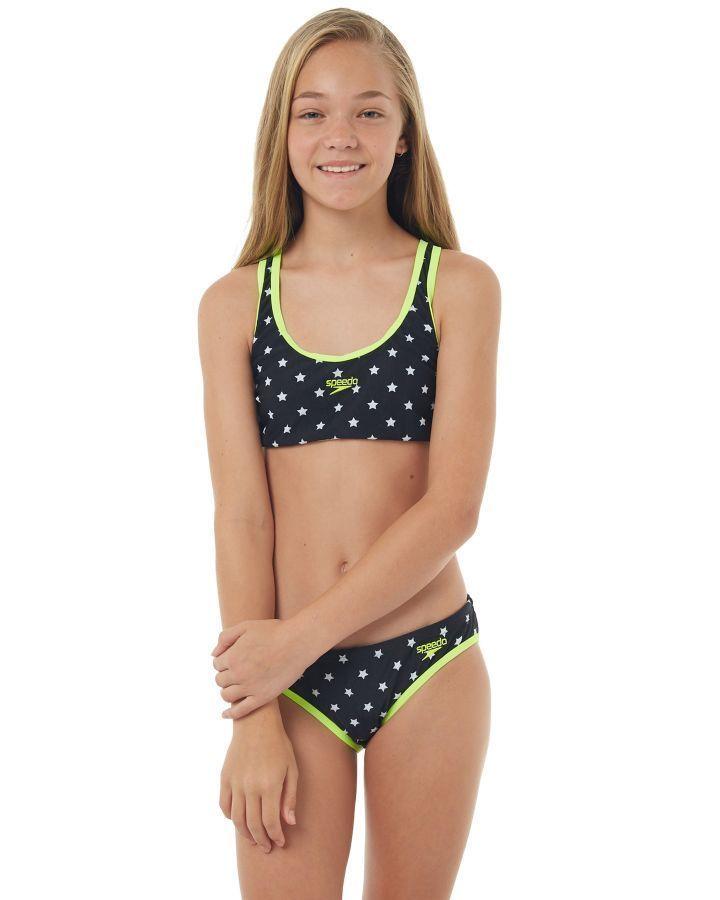 233f910c641 Speedo Kids Girls Southern Star Bikini Southern Star Girls swimsuits Size 14