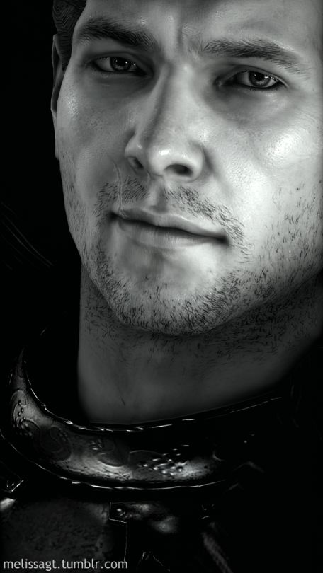 We all live for this half smile. SRSLY. - Cullen | Dragon Age: Inquisition