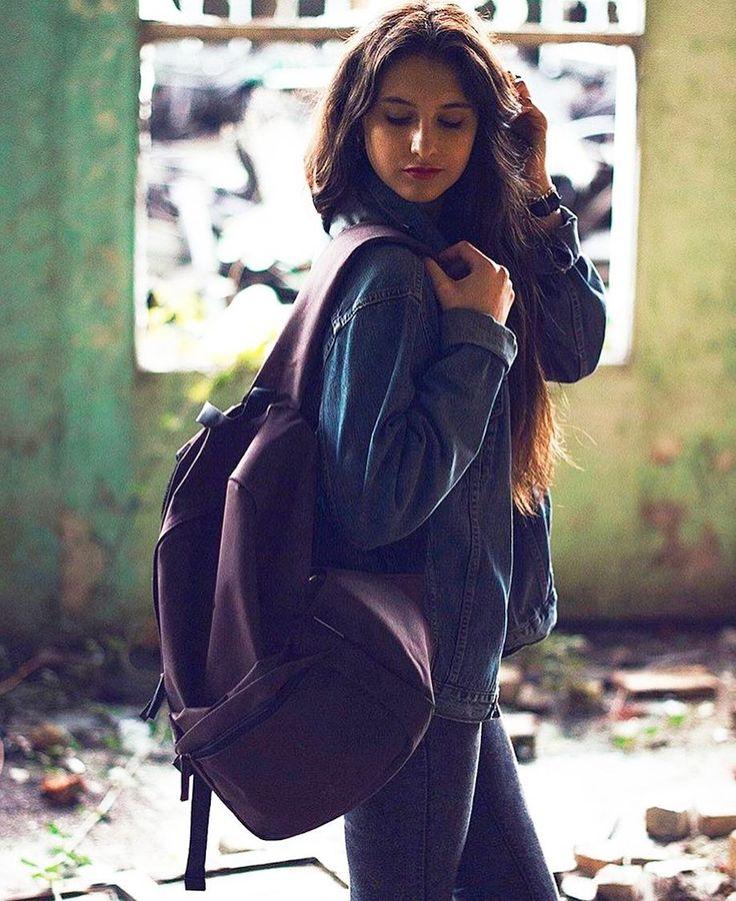 Foto de @uxiavillar con su mochila @mediterrans