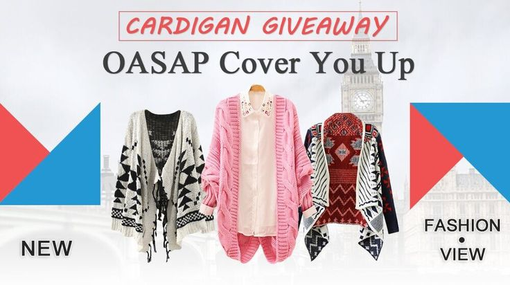 another side of me: Oasap Giveaway: Win a cardigan of your choice! {International}