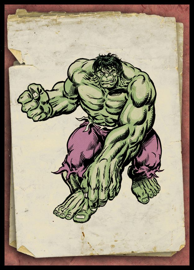 1970's Incredible Hulk by Simon-Williams-Art.deviantart.com on @DeviantArt