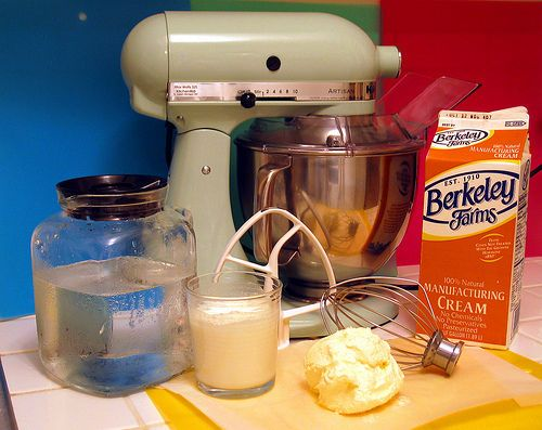 How To Make Butter | Yum O! | Pinterest