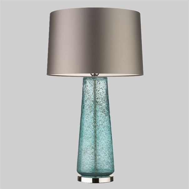 The Caius lamp is a beautifully textured, mould blown glass piece. The fresh mineral hue and stippled surface effect give the lamp an air of luxury and grandeur. This design is individually crafted and will vary from piece to piece; providing a unique and timeless product.