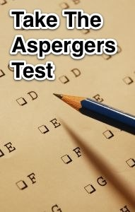 Take The Aspergers Test.   22 – 31 Indicates that one has slightly higher than average autistic traits  I got a 30. This doesn't really surprise me. lol