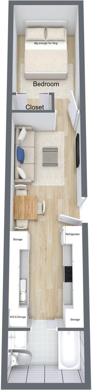 #tumbleweed #tinyhouses #tinyhome #tinyhouseplans Empty nester storage container home