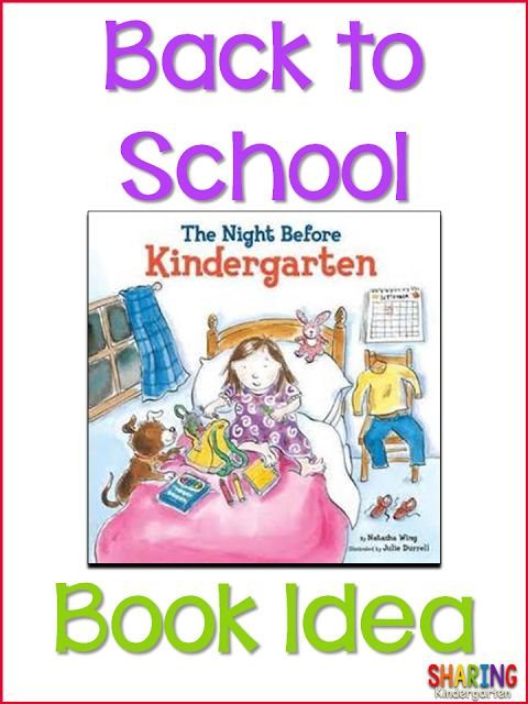 Sharing Kindergarten: Freebie Start of the Year Reading Notes Home