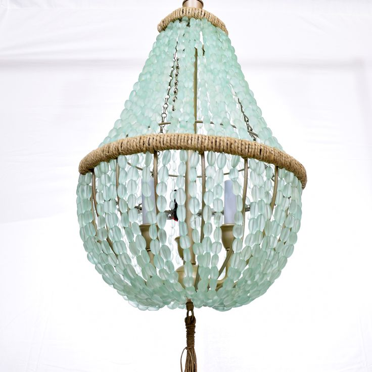 Celeste Sea Glass Chandelier Bring A Calm Energy And Richness Into Your Home Décor With The