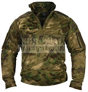 aac50956 Amazon.com : ZAPT Men Military Airsoft Combat BDU Shirt US Army Gen3  Tactical Shirt with Elbow Knee Pads (A-TACS FG, L) : Sports & Outdoors