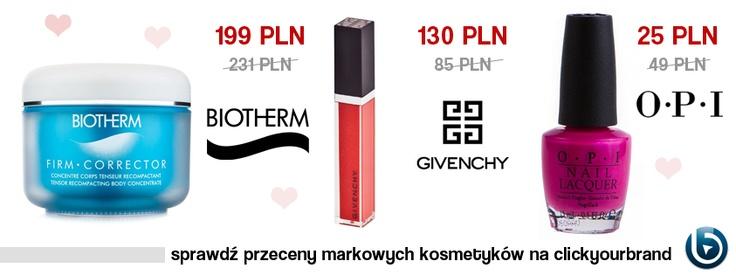 Luksusowe kosmetyki w atrakcyjnych cenach!